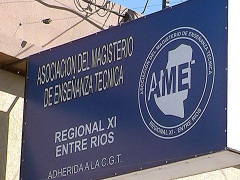 AMET anunció que mantiene el paro por 48 horas