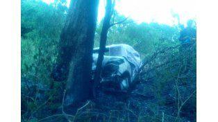 Los fallecidos en el incendio de un auto cerca de Concordia estaban radicados en Federal