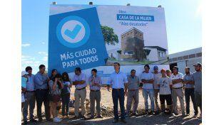 Construyen una casa refugio para mujeres en Gualeguaychú