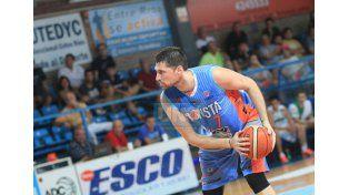 Giorgi fue la figura en la victoria del domingo ante Estudiantes de Concordia