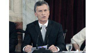 """En la apertura de las sesiones ordinarias Macri pidió """"recuperar la cultura del trabajo"""""""