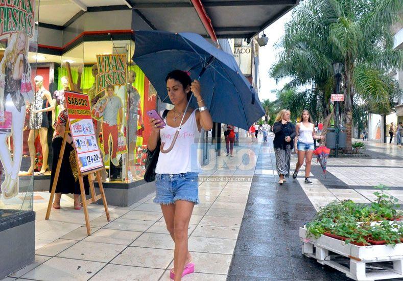 Lluvias y calor en la provincia. Foto UNO/Archivo ilustrativa