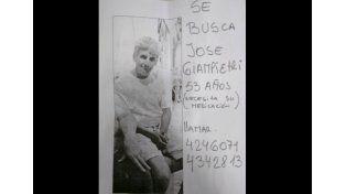 Buscan a José Giampetri en Paraná