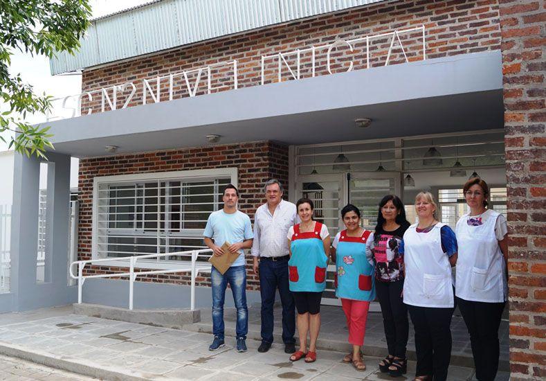 Se entregaron dos nuevas obras en escuelas de la provincia