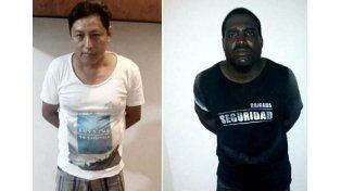 Los dos supuestos autores del crimen