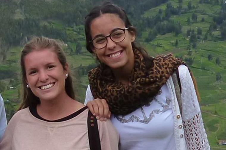 Marina Menegazzo (21) y María José Coni (22).