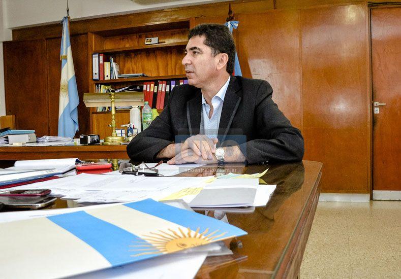 """Mensaje. Panozzo pidió que se tome """"una decisión madura"""".   Foto UNO/Mateo Oviedo"""