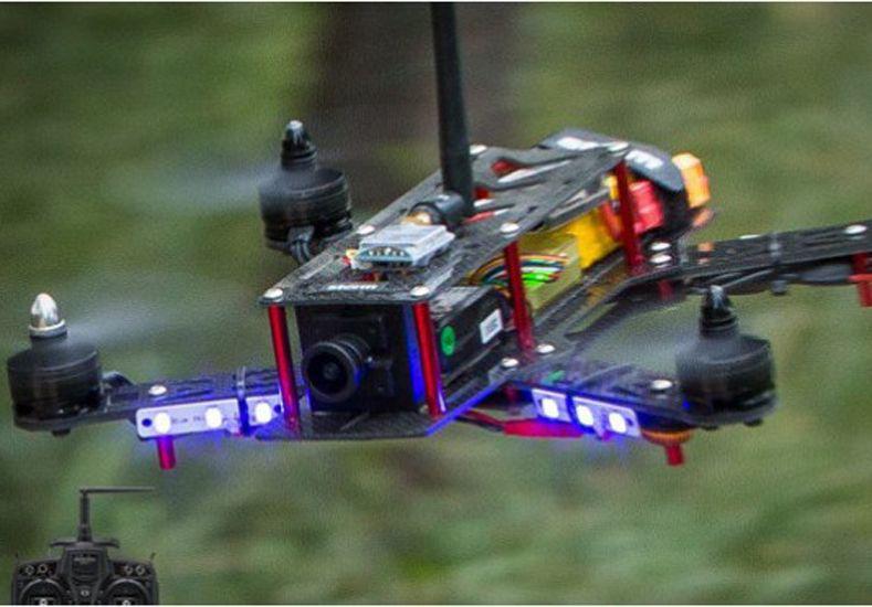 Se desarrollará el primer campeonato mundial de carreras de drones