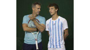 Argentina se prepara para la Copa Davis en Polonia