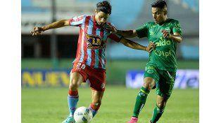 Sarmiento y Quilmes igualaron 2 a 2 en Junín