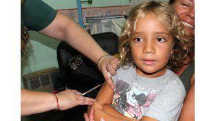 Los vacunatorios garantizan las dosis.