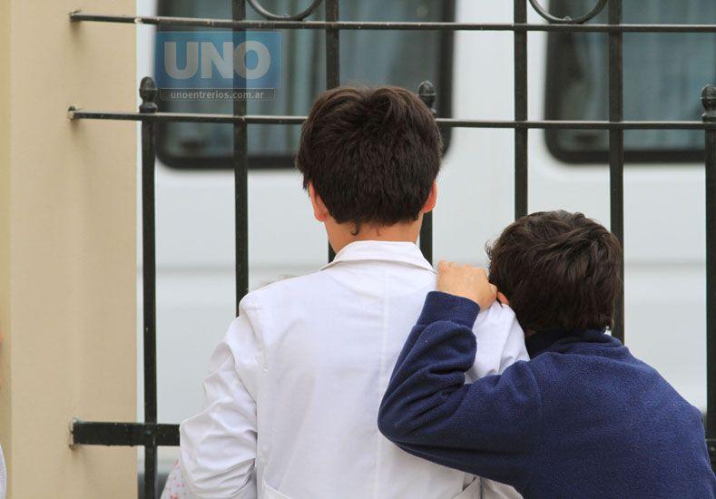 Hay que seguir esperando hasta mañana para saber cuándo es la vuelta a clases en Entre Ríos. Foto/ UNO Juan Ignacio Pereira.