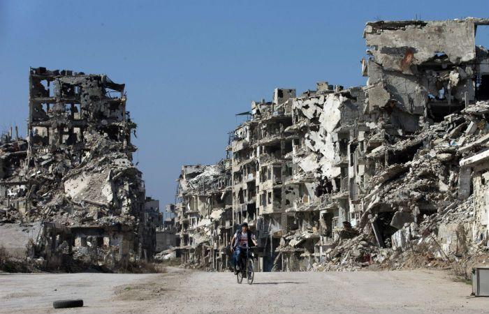 Devastación. Homs