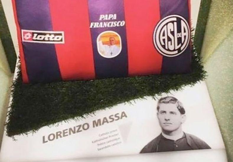San Lorenzo tendrá su camiseta en el museo de la FIFA