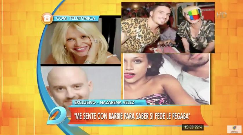 ¿José María Muscari se peleó con Fede Bal por un episodio de violencia a Barbie Vélez?