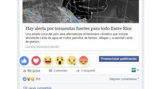 Facebook, un sentimiento