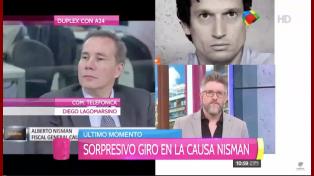 """Lagomarsino habló sobre el giro en la causa Nisman: """"Alberto sabe que digo la verdad"""""""