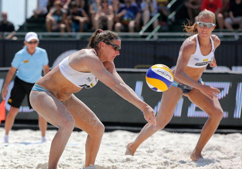 Victoria de Ana Gallay y Klug en el Open de beach volley de Maceió