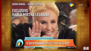 Mirtha dura con Macri: Muchos tecnicismos, poca política