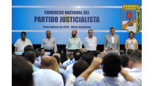 Deuda externa y la elección interna, los ejes en el Congreso del PJ