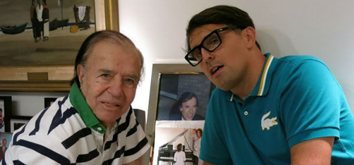 Franco Torchia reveló detalles de su polémica entrevista con Carlos Menem