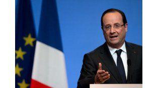 François Hollande.  Foto: AP