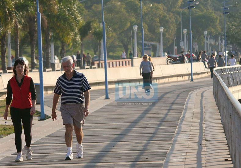 Otra jornada con mucho calor y elevada sensación térmica.  Foto UNO/Archivo ilustrativa