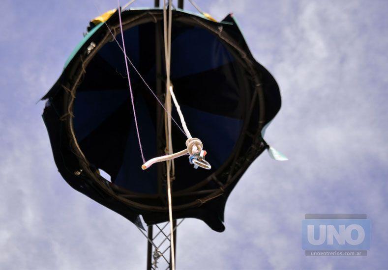El bonete de La Moringa quedó estoico como una señal. Foto UNO/ Mateo Oviedo.