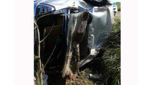 El otro accidente ocurrió a metros de la ruta 131