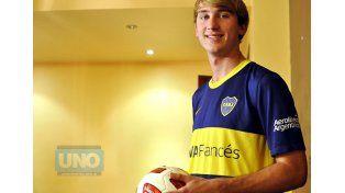 La promesa espera una chance en el primer equipo.  Foto UNO/Mateo Oviedo