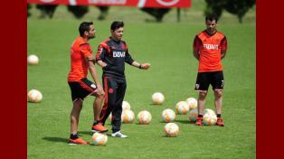 River volvió a los entrenamientos pensando en el debut en la Copa