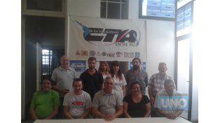 Conferencia de prensa en la CTA Entre Ríos.  Foto: UNO