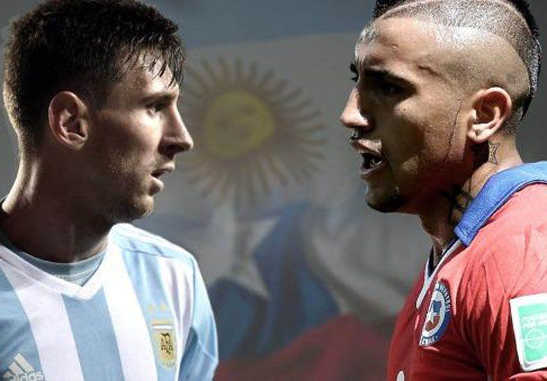 Argentina debutará con Chile en la Copa América del Centenario.   Foto: Télam