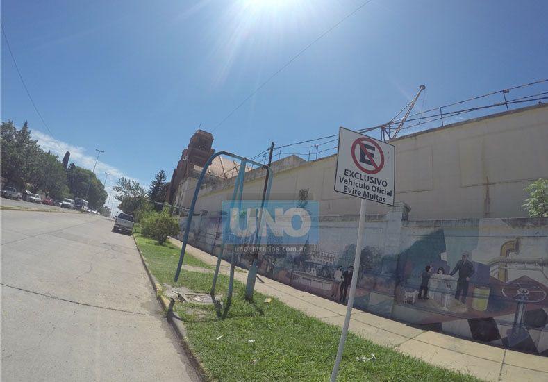 La Municipalidad anunció que están lavando los decantadores en la planta de agua potabilizadora ubicada de Avenida Ramírez. Foto UNO.