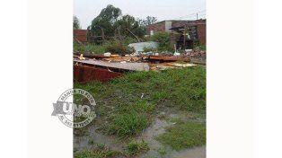 Tormenta: Familia de San Benito pide colaboración tras perder su casa