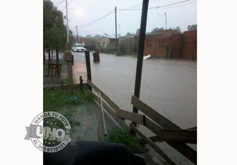 Vecinos de Villaguay reclaman asistencia tras la tormenta