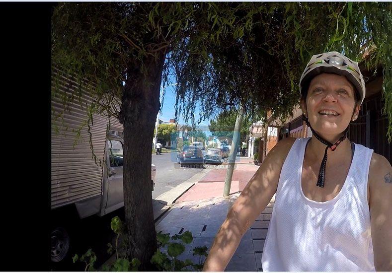 Eligió subirse a la biciclieta para recuperarse luego de la quimioterapia