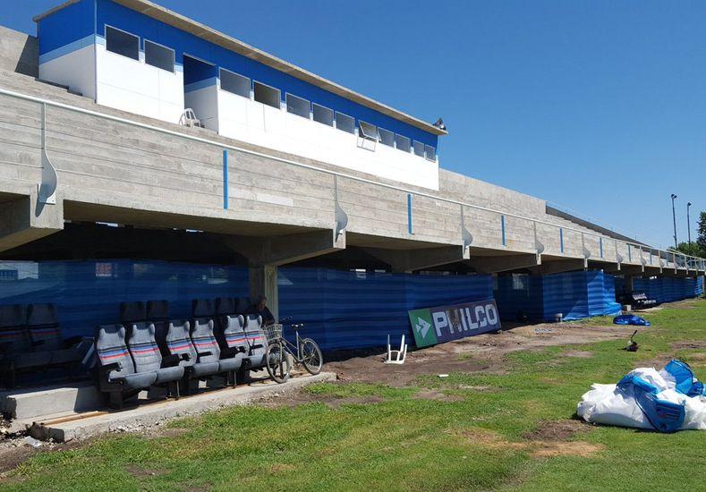 El estadio de Juventud Unida remodelado para recibir a Brown de Adrogué