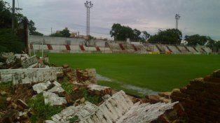 Los clubes de Paraná sufrieron graves daños en sus infraestructura