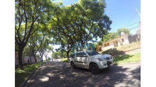 Entrando por calle Artigas se observan las primeras obras en lo que será la ciclovía de Maciá. Foto: UNO/Juan Manuel Kunzi