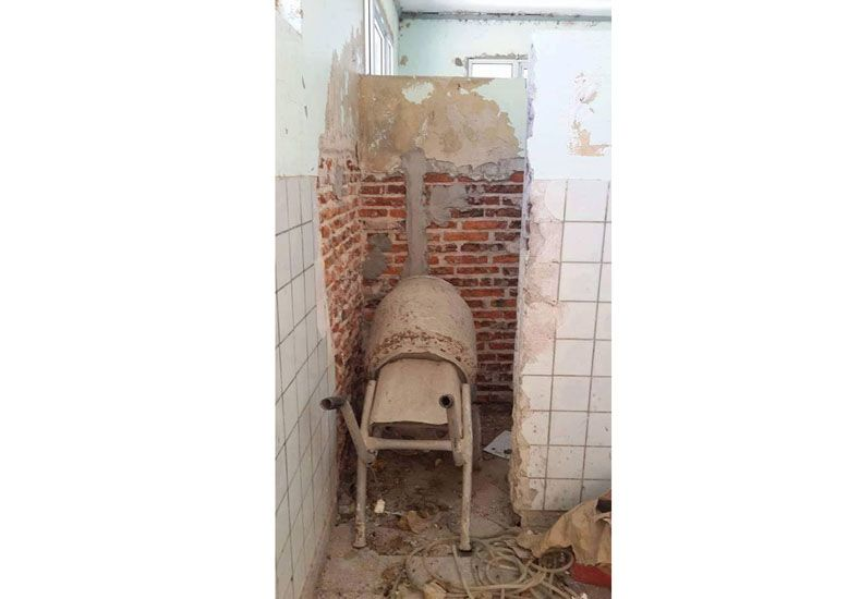 Una docente envió fotos de las condiciones de una escuela de María Grande