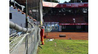 En el Estadio Nafaldo Cargnel será la sede central de la competencia.   Foto UNO/Mateo Oviedo