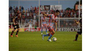 Caneo entendió que el empate fue un resultado justo.  Foto UNO/Diego Arias