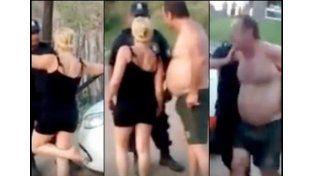 Escandalosa pelea en Pinamar entre una pareja de turistas y un policía