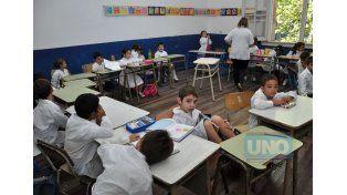 Es incierto el inicio de clases.  Foto UNO/Archivo ilustrativa