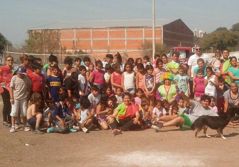 Invitación solidaria. La agrupación Vecinos por Puerto Viejo organizó el evento.