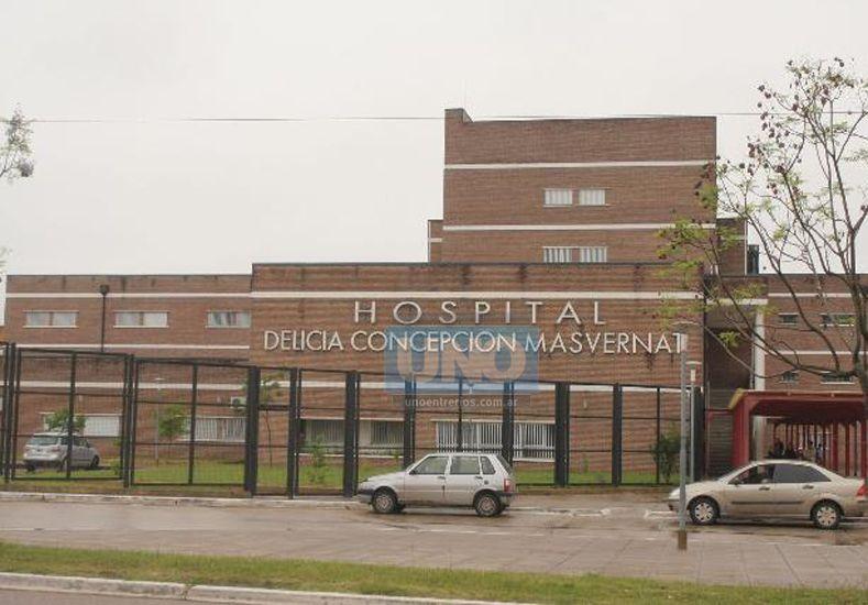 El hecho ocurrió en el hospital Masvernat de Concordia.  Foto UNO/Archivo