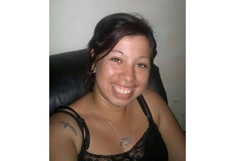 Cámaras. Acevedo quedó registrada cuando se llevaba la beba.