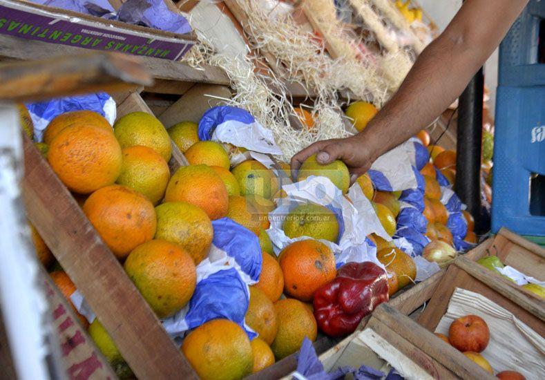 Desfasado. El productor vendió la naranja en diciembre por los costos