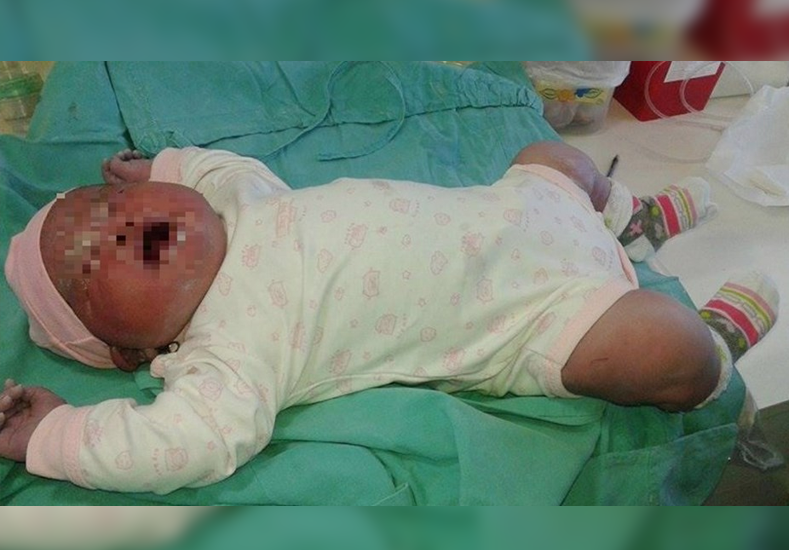 Nació una beba de más de seis kilos